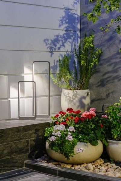 גינה מעוצבת, עיצוב שרי בר-נע גבעון light-design
