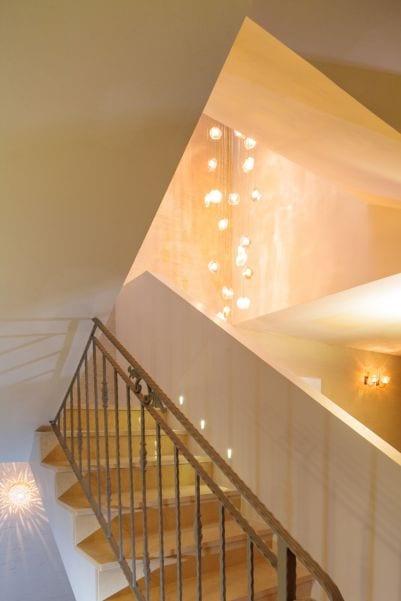 עיצוב תאורה למדרגות , עיצוב שרי בר-נע גבעון light-design