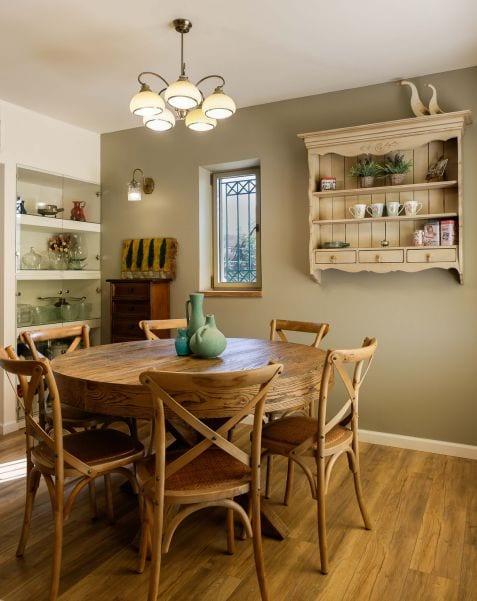 פינת אוכל מעוצבת, עיצוב שרי בר-נע גבעון light-design