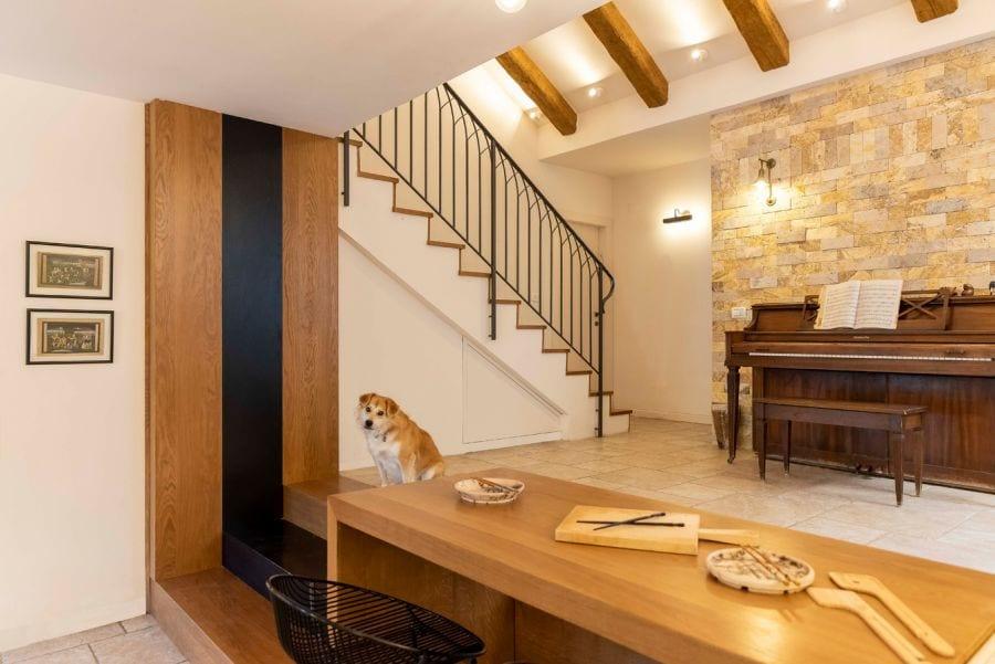 דלפק מעוצב בית ברעות שרי בר-נע גבעון light-design