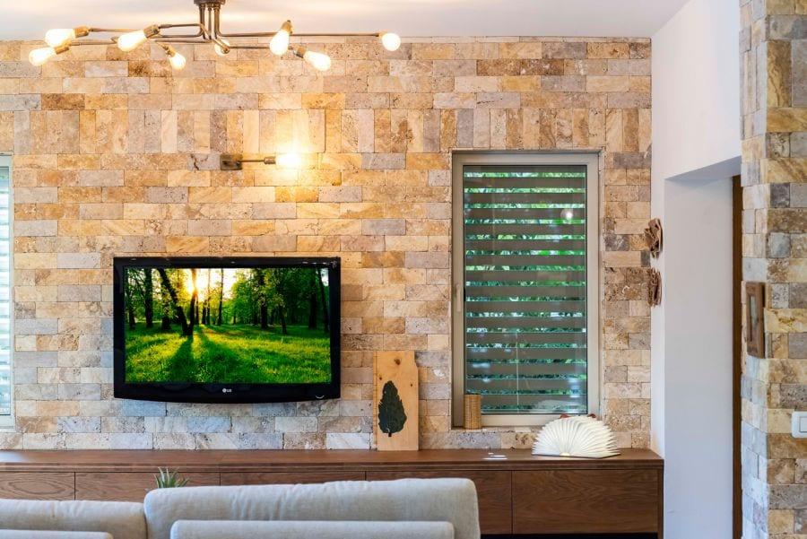 חדר מגורים מעוצב בית ברעות שרי בר-נע גבעון light-design