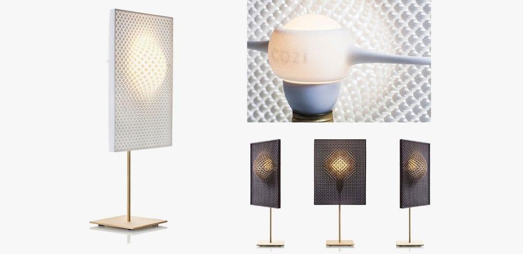 מנורות עמידה בהדפסה תלת מימדית