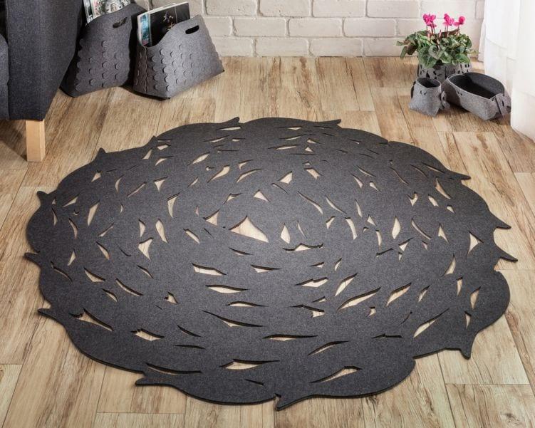 שטיח בדוגמת דגים