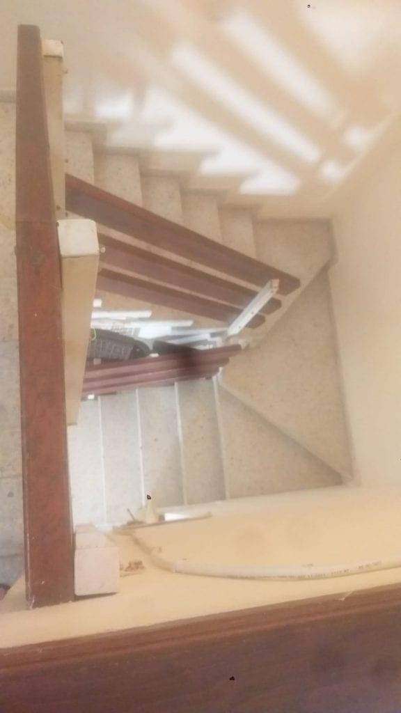גרם המדרגות לפני